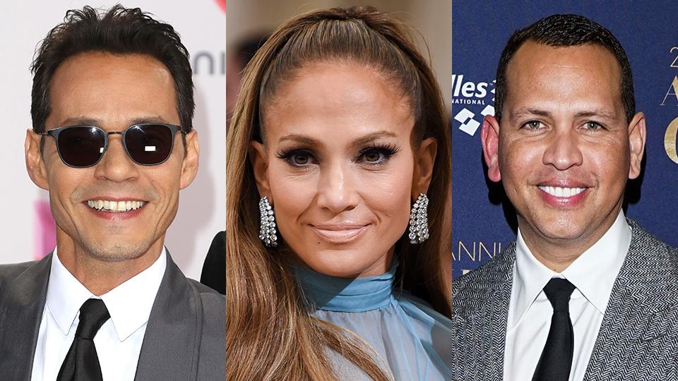 Marc Anthony, Jennifer Lopez, Alex Rodriguez