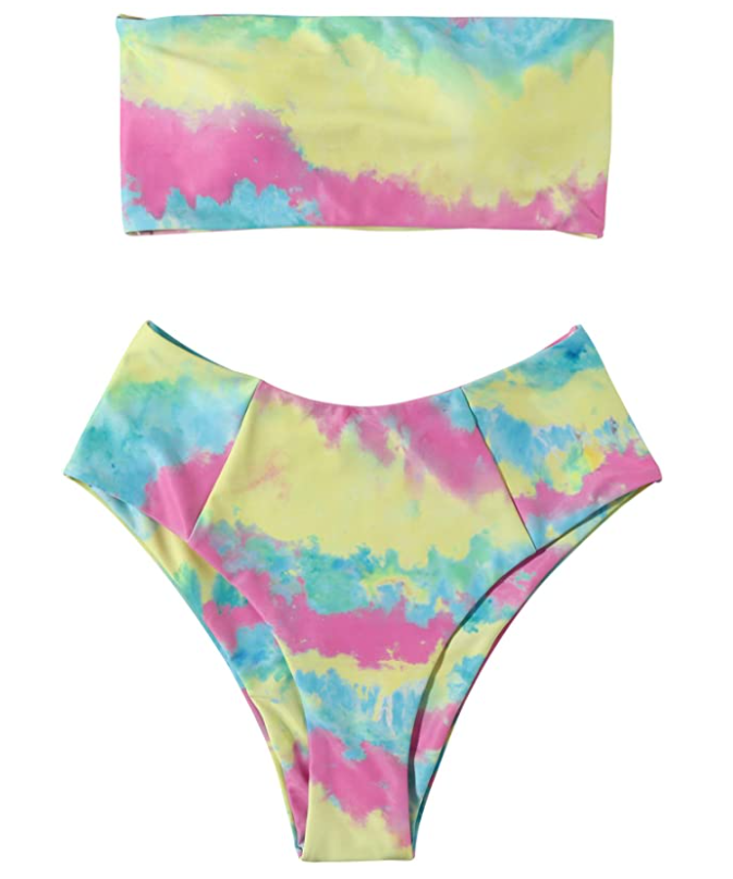 STYLECASTER | high waisted swimsuits