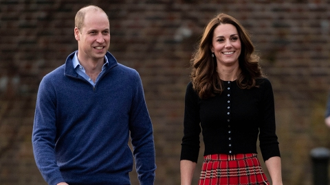Prince William & Kate Middleton's Kids Gave the Queen This 'Surprise' Gift For Easter | StyleCaster