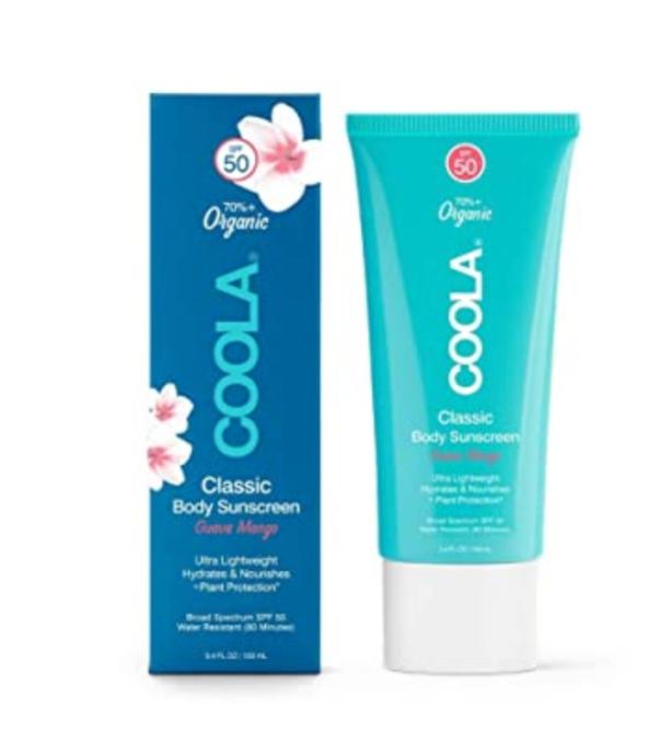 COOLA Organic Sunscreen & Sunblock Body Lotion