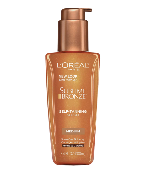 L'Oreal Paris Skincare Sublime Bronze Self-Tanning Serum