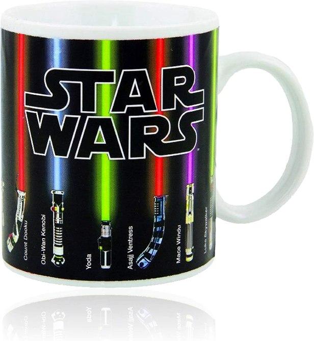 'Star Wars' Lightsabers Heat Mug