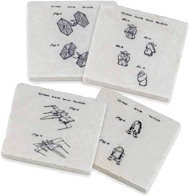 'Star Wars' Stone Coasters