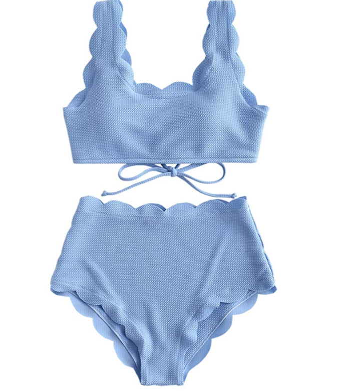 STYLECASTER | High-Waisted swimsuits