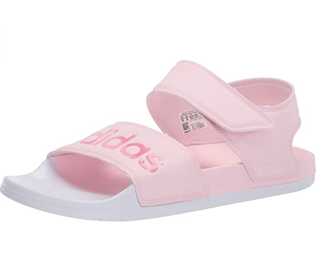 Adidas Pink Sandal on Amazon