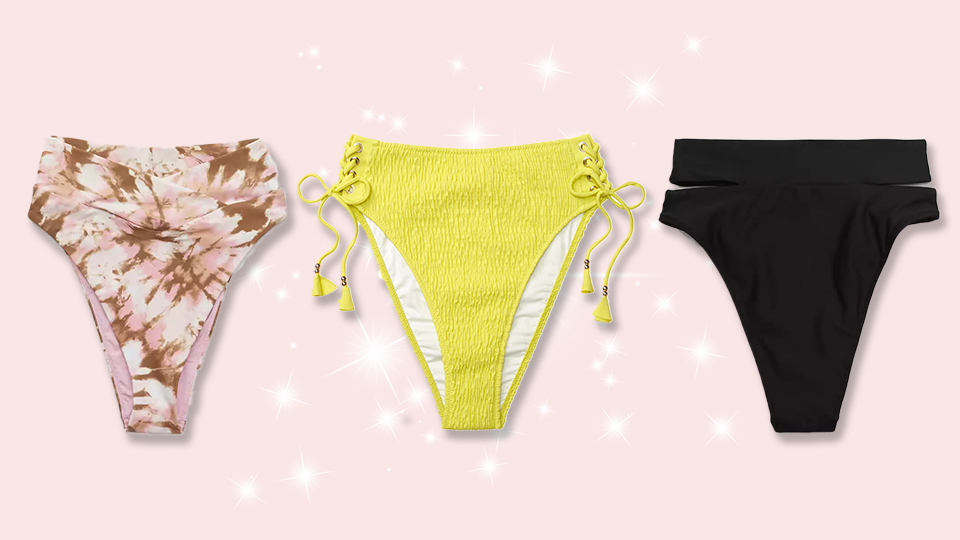 The 6 Best High-Waisted Bikini Bottoms, Ranked