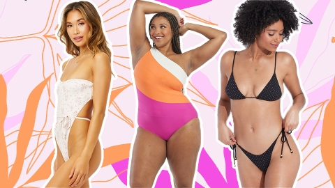Dive In To The 2021 Swimwear Trends Coming To A Pool Near You | StyleCaster