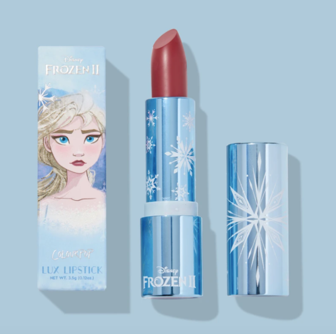 cp little snow lux lipstick ColourPop Is Basically Giving Away Lipstick & Buzzy Collabs Are Included