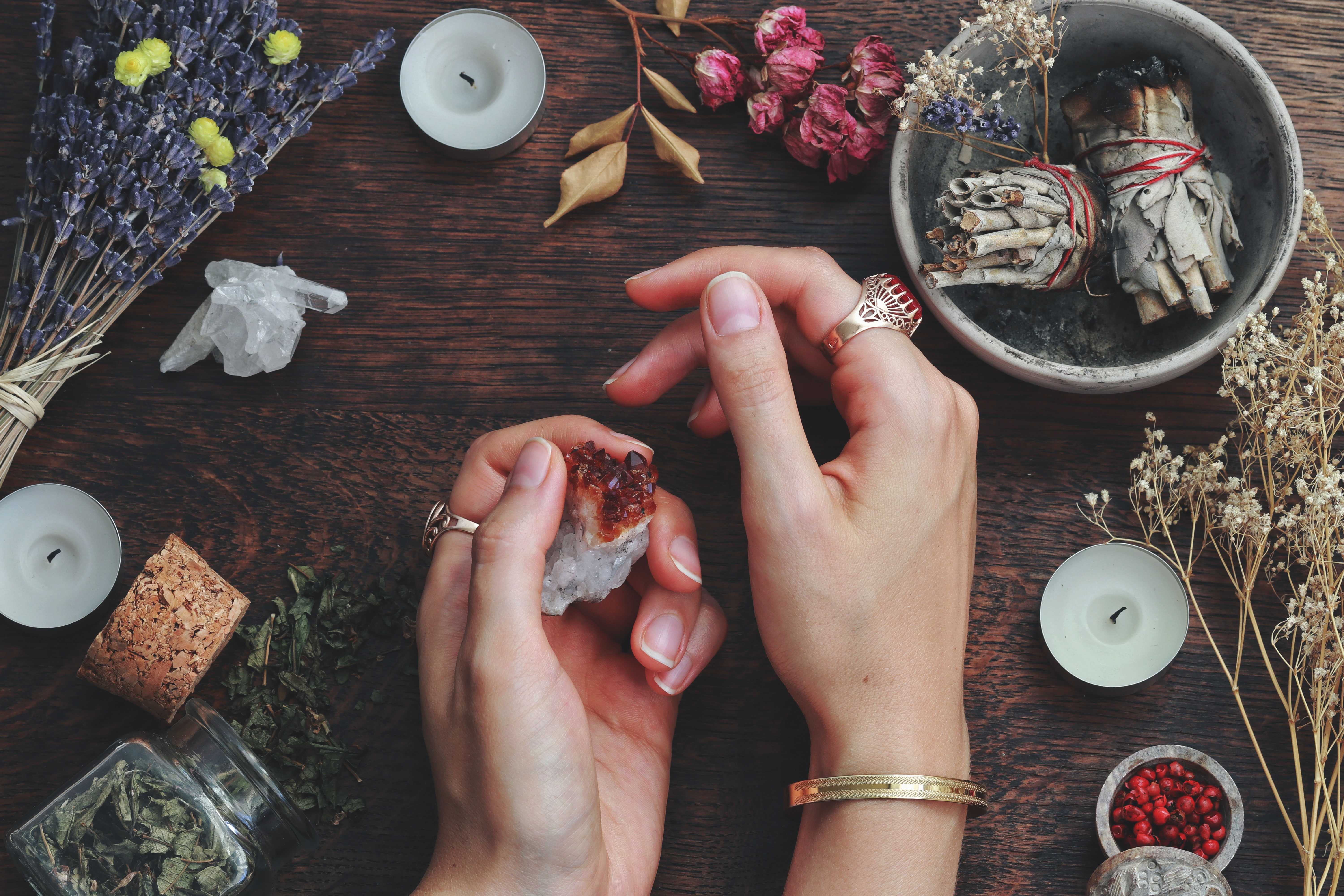 Are You Obsessed With Crystals? Here's the Online Class You Need to Take RN