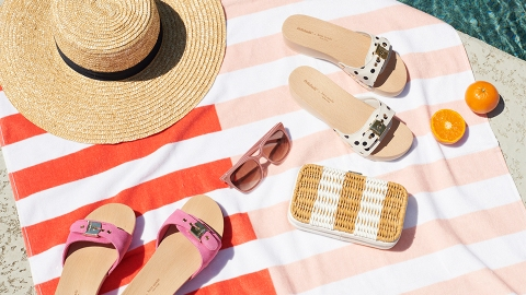Kate Spade x Dr. Scholls Just Launched The Perfect Picnic Sandals | StyleCaster
