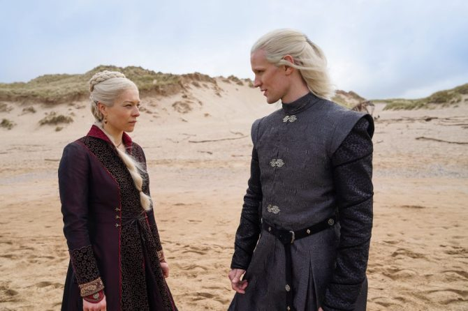 emma d arcy matt smith e1620338428925 The 1st GOT Prequel Is Now in Production & These Official Photos Have Us So Excited