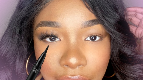This Eyeliner Lash Adhesive Lays All Other Lash Glues To Rest | StyleCaster