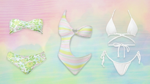 Frankies Bikinis' Summer Collection Is A Pastel Poolside Dream | StyleCaster