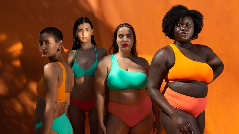 Girlfriend Collective Is Launching Chic Swimwear In Sizes Up To 6XL | StyleCaster