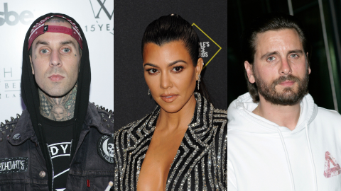 Travis Wants to Marry Kourtney—But Her 'Situation' With Scott Is Getting in the Way   StyleCaster