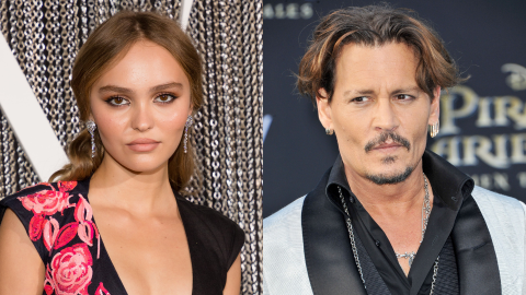 Lily-Rose Depp Just Revealed if She'll Work With Her Dad Johnny Again After His Lawsuit   StyleCaster