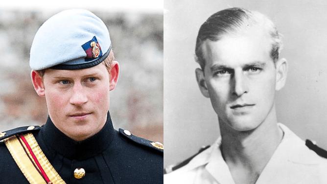 prince harry prince philip young 1 Il principe Harry sembra proprio un giovane principe Filippo: ecco le foto per dimostrarlo