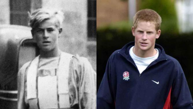 prince harry prince philip young 3 Il principe Harry sembra proprio un giovane principe Filippo: ecco le foto per dimostrarlo