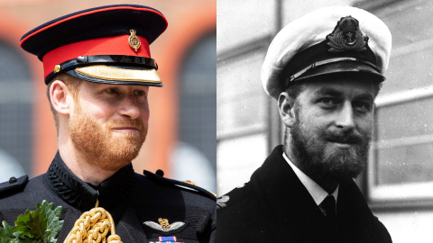Prince Harry Looks Just Like a Young Prince Philip—Here Are the Photos to Prove It | StyleCaster