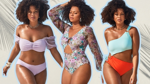 GabiFresh x Swimsuits For All Is Back With Trendy Suits In Sizes 10-24 | StyleCaster