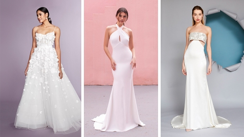 I Can't Stop Thinking About This Season's Dreamy Wedding Dress Trends   StyleCaster