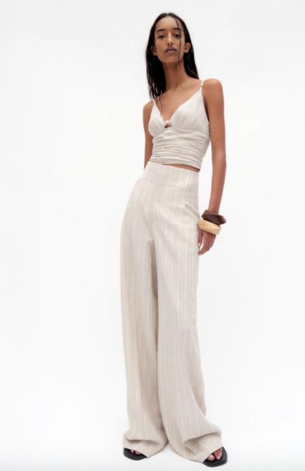 STYLECASTER | Emily Ratajkowski Zara Skirt