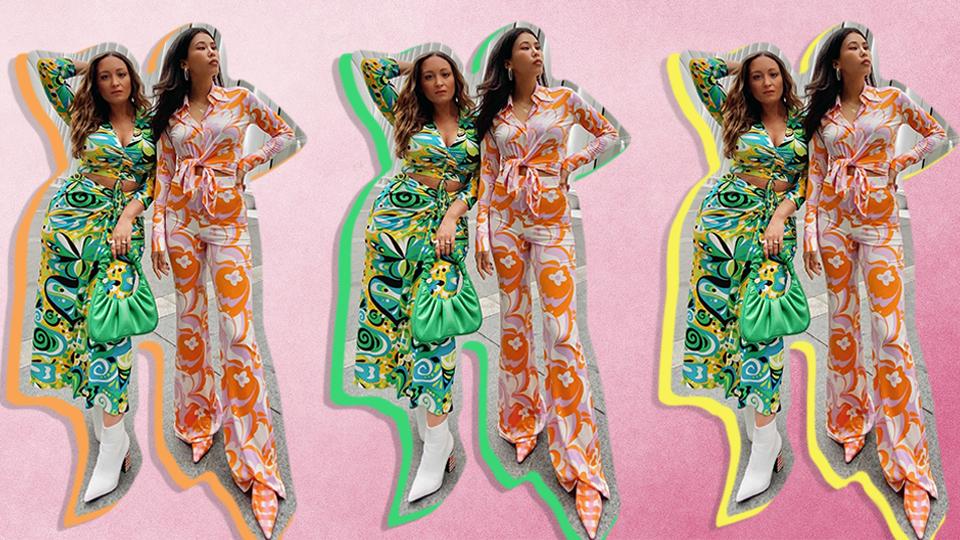 I Tried Styling Zara's Groovy '70s Prints & I'm Fully Obsessed