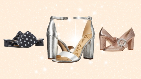 10 Pairs Of Shoes You Won't Regret Wearing To An Outdoor Wedding | StyleCaster