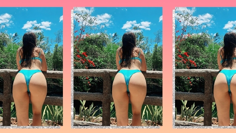 Get Cheeky With The Very Best Swimsuits For Big Butts | StyleCaster