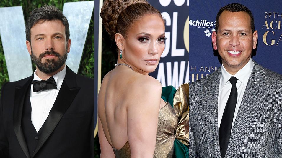 Ben Affleck, Jennifer Lopez, Alex Rodriguez