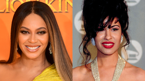 Yes, Beyoncé & Selena Really DidRun into Each Other Like in 'Selena: The Series' | StyleCaster