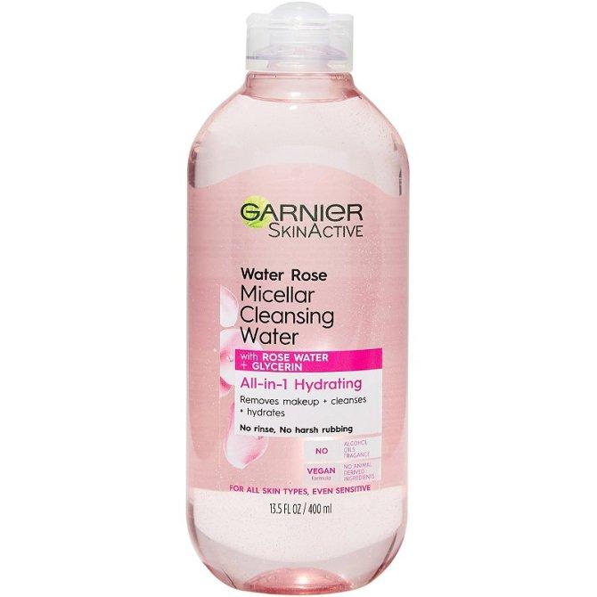 garnier skin active rose water