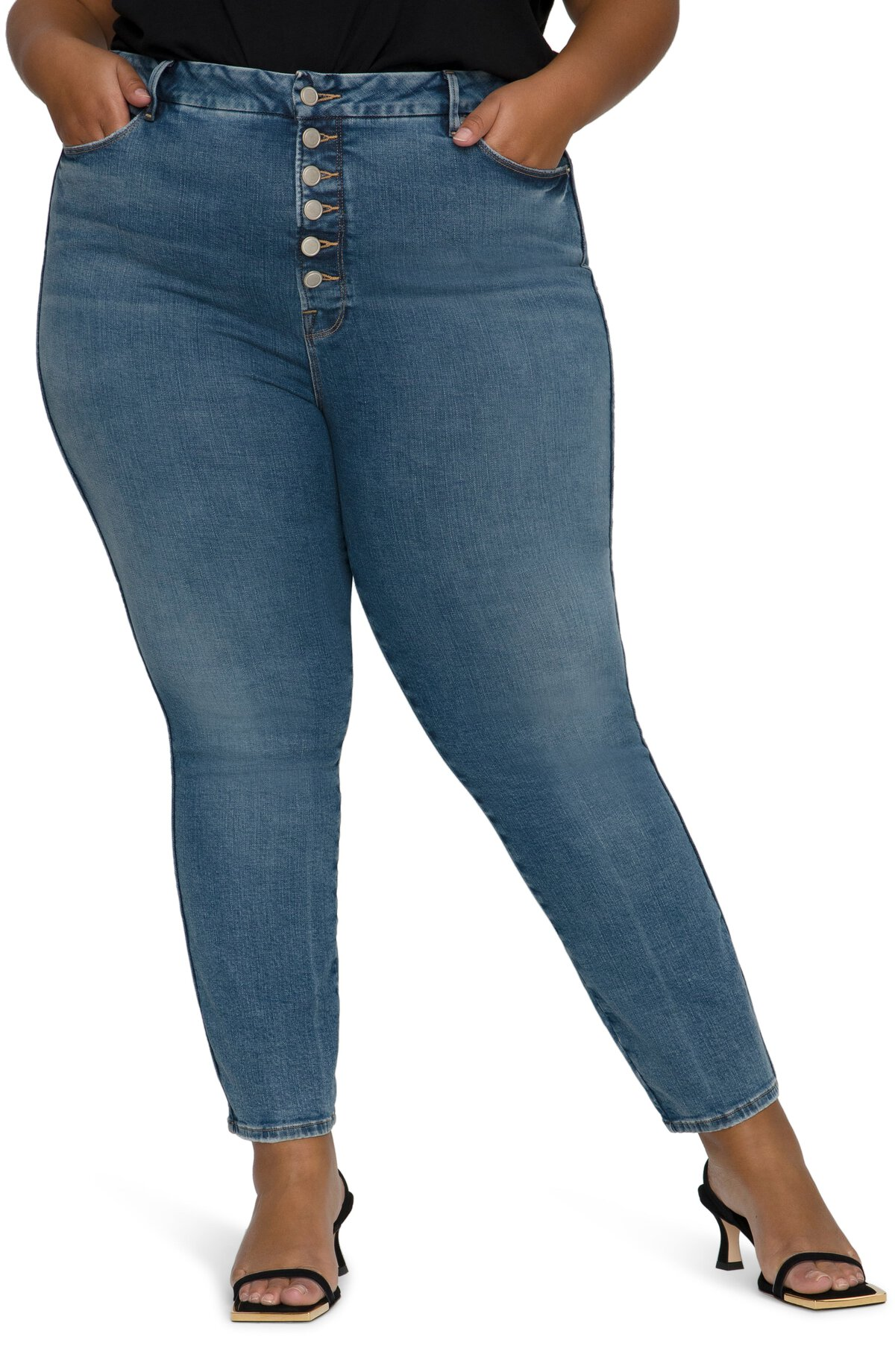STYLECASTER | Best Jeans Long Torso Short Legs