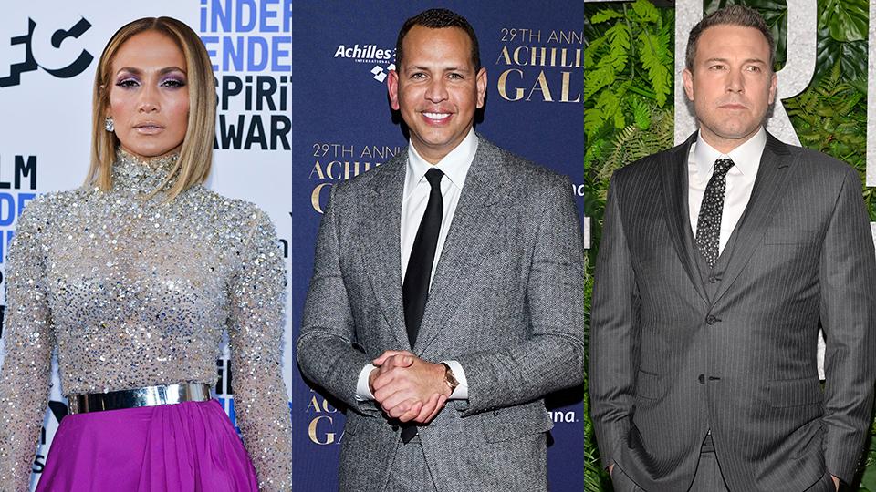 Jennifer Lopez, Alex Rodriguez, Ben Affleck