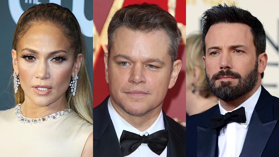 Jennifer Lopez, Matt Damon, Ben Affleck