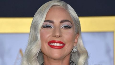 Lady Gaga Debuted Dark Hair & An '80s Pop Star Vibe While Celebrating Born This Way Day | StyleCaster
