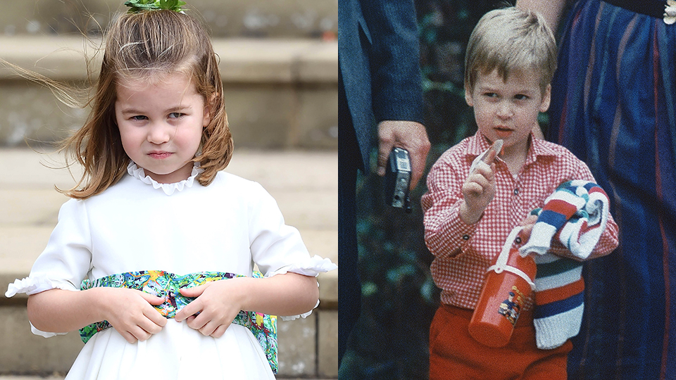Princess Charlotte Looks So Much Like Young Prince William in Her New Birthday Photo