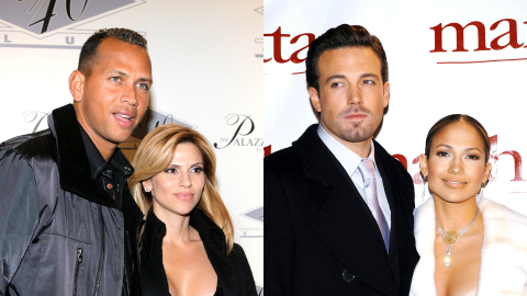 A-Rod Just Posted a Photo With His Ex-Wife Days After J-Lo Hung Out With Ben Affleck   StyleCaster