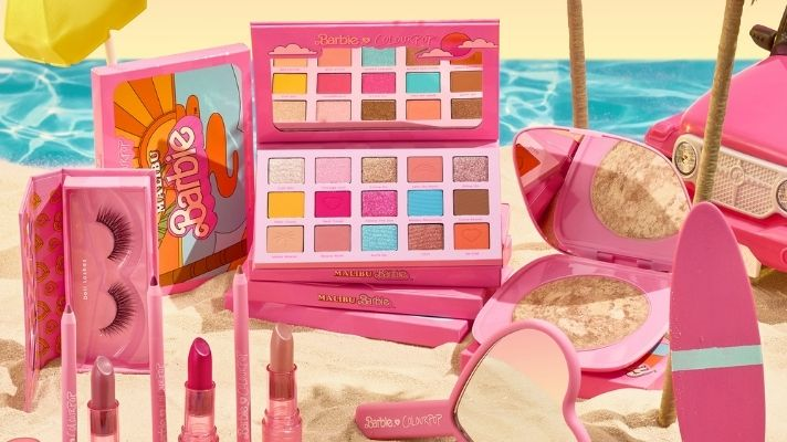 ColourPop's Barbie Collection Will Transport You Back To The '90s In The Best Way Possible