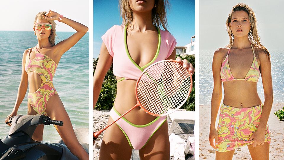 Frankies Bikinis' Terry Collection Has Awakened My Inner Beach Prep