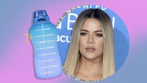 Khloé Kardashian Is Obsessed With This $23 Amazon Water Bottle | StyleCaster