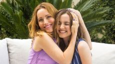 Leslie Mann & Maude Apatow Share Beauty Products Just Like You & Your Mom