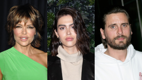 Lisa Rinna Finally Met Scott Disick & Revealed What She Really Thinks of Him Dating Amelia | StyleCaster