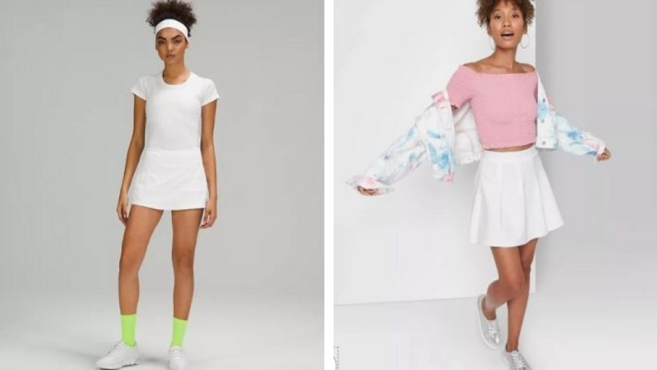 This Target Tennis Skirt Is A Seriously Cute Dupe For My Fave Lululemon Version | StyleCaster