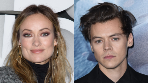Here's What Olivia Wilde Thinks of Photos of Harry Styles Making Out With Another Actress | StyleCaster