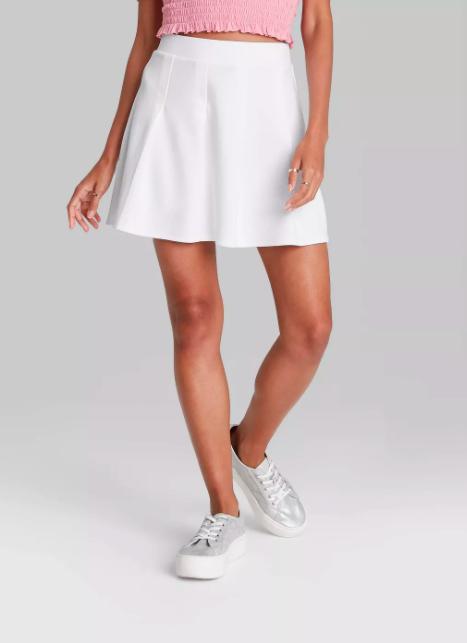 target tennis skirt