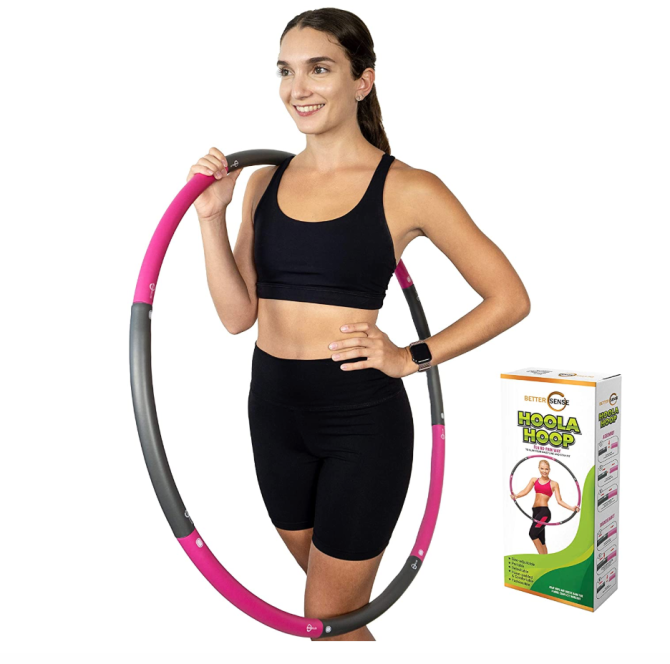 StyleCaster | Weighted Hulu Hoops on Amazon