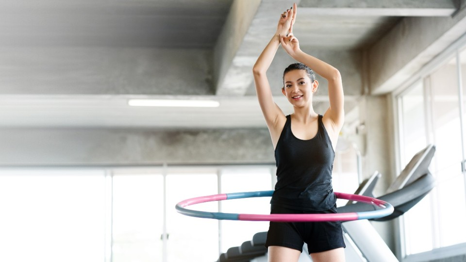 You Can Finally Workout & Watch TV At the Same Time—Thanks to These Hula Hoops on TikTok | StyleCaster