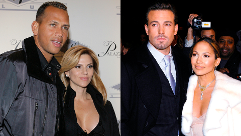 A-Rod Just Called His Ex-Wife 'World Class' After J-Lo Moved Away From Him to Be With Ben   StyleCaster