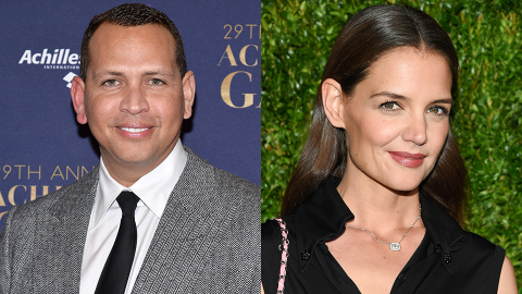Here's the Truth About Why A-Rod Was at Katie's House a Month After She Split From Her BF   StyleCaster